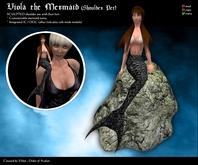 Viola the Mermaid - Shoulder Pet