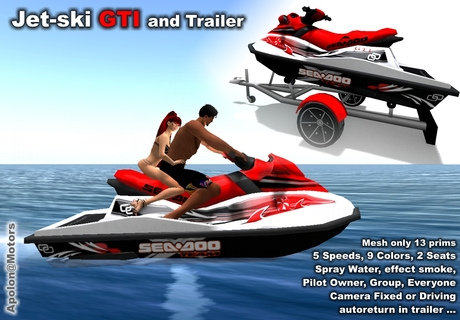 Jetski GTI by Apolon Motors ( jet ski ) 100% Mesh