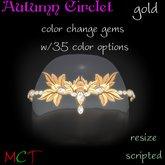 Autumn Circlet - Gold