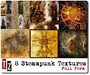 pack of 8 full perm STEAMPUNK textures