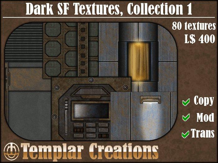 Dark SF Textures - Collection 1