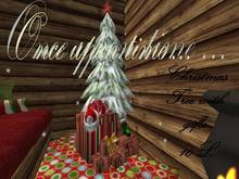 Once upon time... Christmas tree + Gift