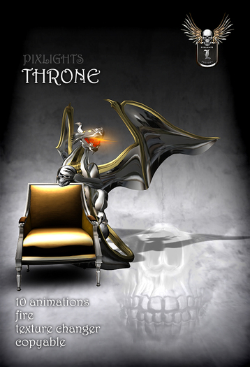 PIXLIGHTS DRAGON THRONE