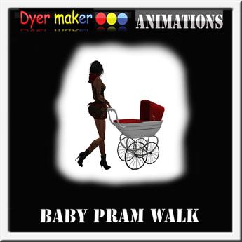Pram Walk animation boxed full perm