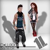 D.Luxx Poses - Boy Vs Girl