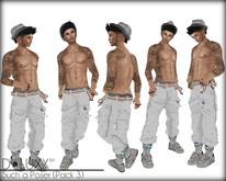 D.Luxx Poses - [M] Such a Poser [Pack 3] (5 Male Static Poses)