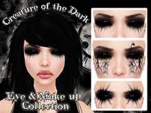 "::ED::""Creature of the dark"" make up & eye collection"
