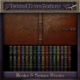 ~TTT~ Leather Books & Spines Textures Set 1