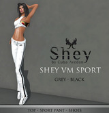 Shey Sport Wear Grey/Black