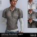 *REDGRAVE* Vintage Poloshirt -Grey-