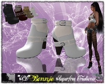 **SD** Bonnje Casul - Ankle cuffs - large Heel Camperos ( Multicolors Full options )
