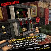 HORIZONS Scene - Christmas Postcard