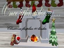 Once upon time... Christmas Fireplace