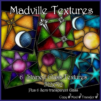 Madville Textures - Stained Glass Textures Sky