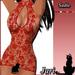 JariCat Sadie Dress Red