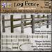 *LightStar - Log Fence