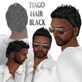 "EdelStore man hair "" Tiago "" black NEW guy hair male hair cabelo boy hair pelo hair man Tiny Goth Fantasy short hair guy"