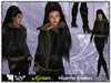 **SD**XX Mjriam Casual Winter Complete Outfit (Black Version) With Camperos Boots