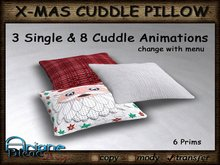 Christmax Xmas Advent Cuddle Pillow *Time for Two* Nr.4