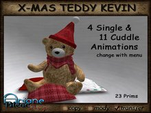 Christmax Xmas Advent Cuddle Teddy Kevin with Animations *PROMO PRICE FOR XMAS*