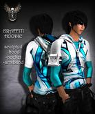 PIXLIGHTS FACTORY Graffiti hoodie SB