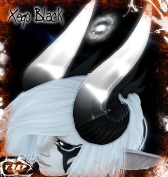 [][]Trap[][] Xeno Black Demon Horns