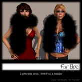 - MPP Fur Boa - Black