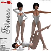 Miss S. Body and Legwear Fitness grey