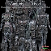 Wunderlich's Male Android 1 Skin-Steel