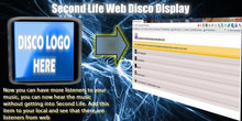 Second Life Display Disco WEB Music (new version)