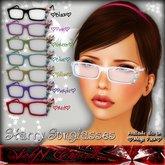.::V::.  Starry Sunglasses  *Black*
