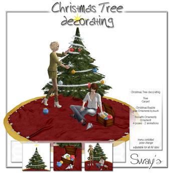 Sway's Christmas Tree decorating