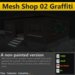 [FYI] Mesh Distressed Grunge Building With Graffiti