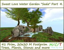 Sweet Love Water Garden Part 4 20x20m 41 Prim