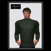 Akaesha's Ribbed Turtleneck Sweater - Green M