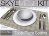 PROMO PRICE Skye MESH Kit - Full Perms Table Place Settings