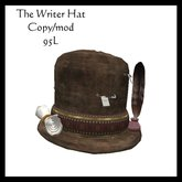 The Writer Hat (boxed)