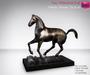 Full Perm Mesh Horse Statue Set