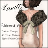! Laville !  Ribboned Fur Wrap - All Colours