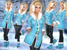 """☆★PROMO★☆-{   VIRTUE MOCHA   }-  """"Freezing Cold!"""" - Blue ★☆"""