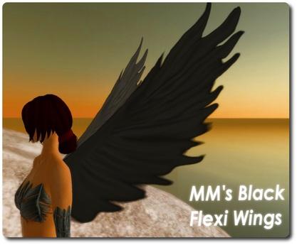 MM's Black Flexi Wings