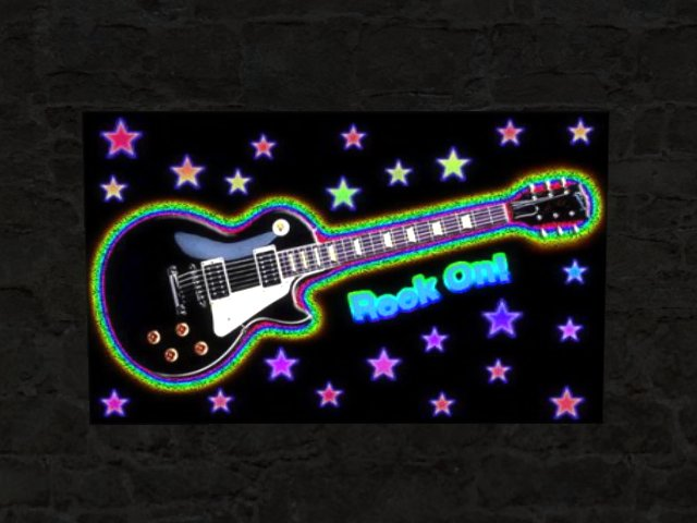 TA Rainbow Rock ON Guitar