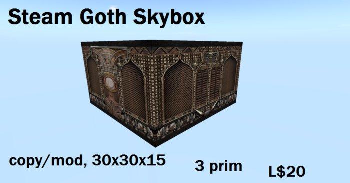 Steam goth skybox