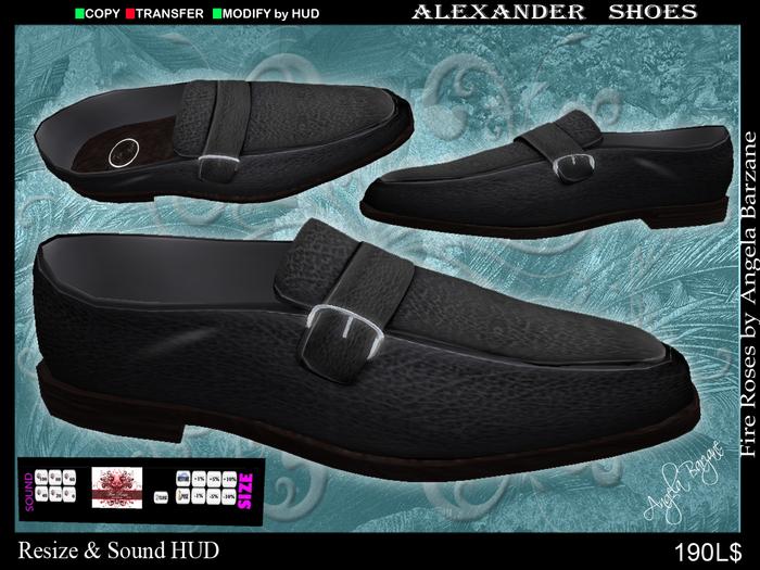 fR-MenShoes001 Alexander black. Men shoes,boots, footwear