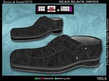 Shoes-Men fR002 Sean black. Men shoes,boots, footwear