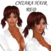 "EdelStore women hair "" Chiara "" red NEW NEW"