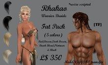 RHAKAO~Fat Pack/ Warriors braids(BOXED)