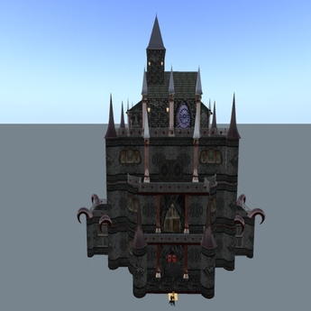 Gores Goth Vampire Castle all Versions