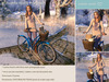 {what next} Wintertime Bicycle Pose Prop