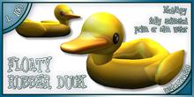 WaterWorks - FLOATY RUBBER DUCK
